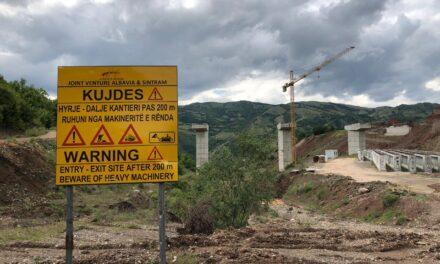 """Rruga """"Egnatia"""" thith miliona dollarë shtesë, ndërsa fundi nuk duket"""