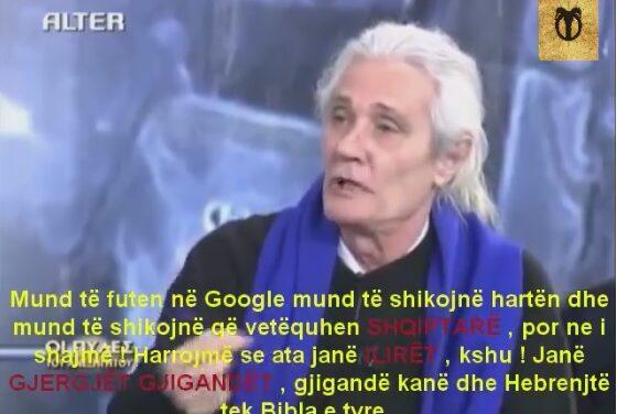 VIDEO / Profesori grek: Helenët e djeshëm janë shqiptarët, jo grekët e sotëm!