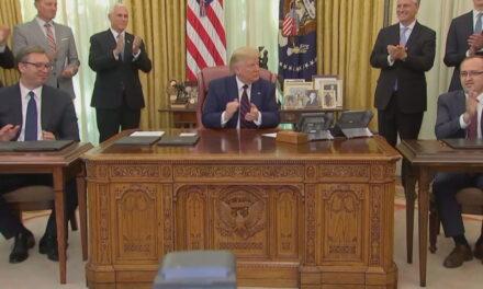 Trump: Ditë historike në një pjesë tepër të bukur të botës, mezi po pres t'i vizitoj të dy shtetet