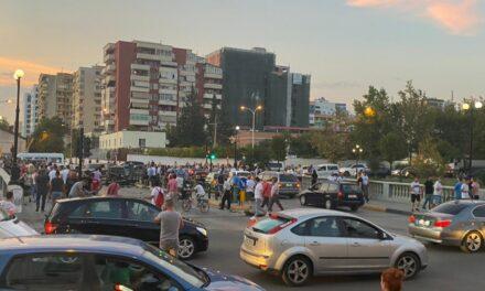 FOTO: Shpërthim i fuqishëm në Tiranë, dyshohet për eksploziv