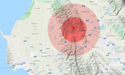 Goditje të vazhdueshme tërmeti gjatë mesnatës