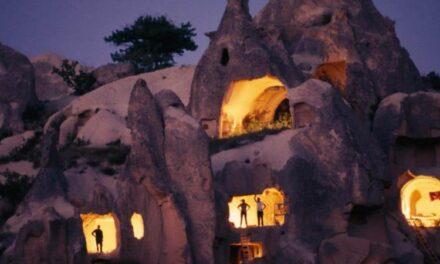 Të jetosh në një shpellë…