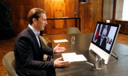 Kancelari i Austrisë videokonferencë me Ramën: Folëm për luftën e përbashkët kundër terrorizmit dhe ekstremizmit