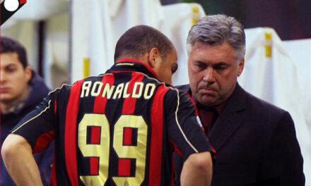 Ancelotti i mahnit të gjithë me anekdotën e Ronaldos te Milani
