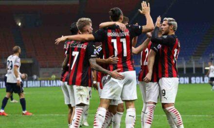 Rekord për Milanin, skuadra që fituar më shumë pikë në 2020-ën