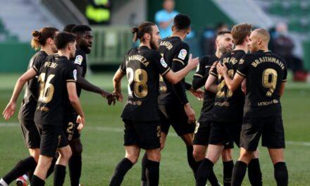 La Liga, Barca pa Messin vuan por arrin fitoren