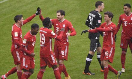 Bayern rikthehet te fitorja dhe shkëputet në Bundesligë