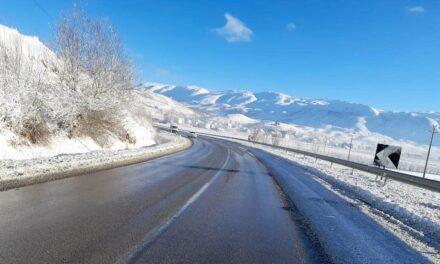 Reshjet e dëborës/ Akset që kanë probleme dhe kalimi është i mundur vetëm me zinxhir