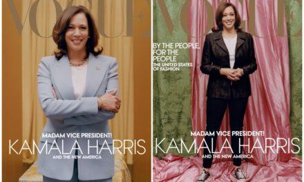 """Kopertina e """"Vogue"""" për Kamala Harris shkakton polemika"""