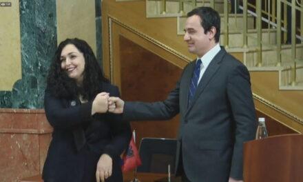 Albin Kurti dhe Vjosa Osmani, bashkë në zgjedhjet e 14 shkurtit