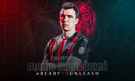 """Mandzukic firmos me Milanin dhe merr """"numrin e mallkuar"""""""