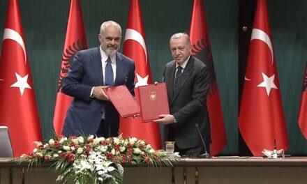 Rama: Firmosëm krijimin e Këshillit të Bashkëpunimit të Nivelit të Lartë Shqipëri-Turqi