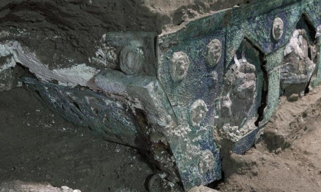 Pompei surprizon sërish, zbulohet një karrocë për ceremonitë martesore të aristokracisë