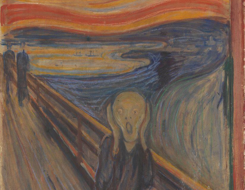 """Zbulohet sekreti i shkrimit enigmatik në """"The Scream"""" të Munch"""