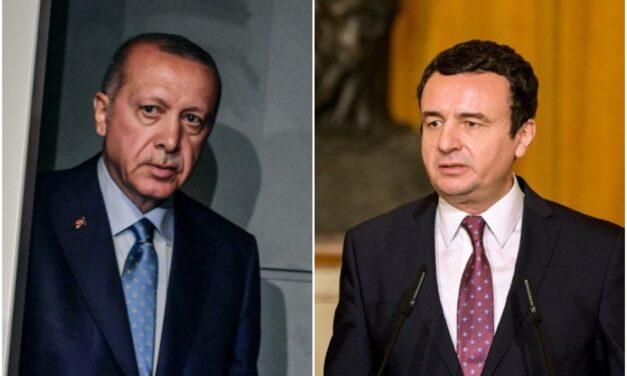 """""""Mund të shkaktohen dëme për Kosovën"""", Erdogan letër Kurtit për ambasadën në Izrael"""