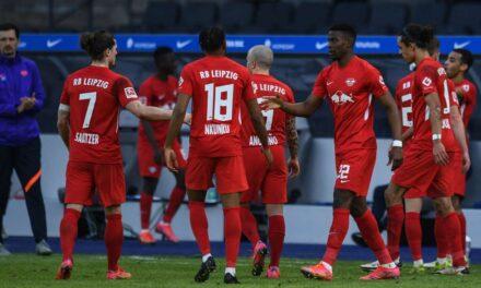 """Leipzigu pranon """"asistin"""" e Bayernit, fiton thellë ndaj Herthas së Berlinit"""
