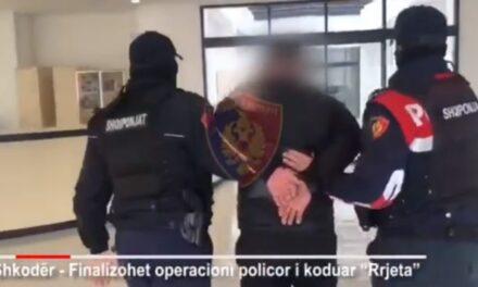 """""""Rrjeta"""" ve në pranga 4 trafikantë droge në Shkodër"""