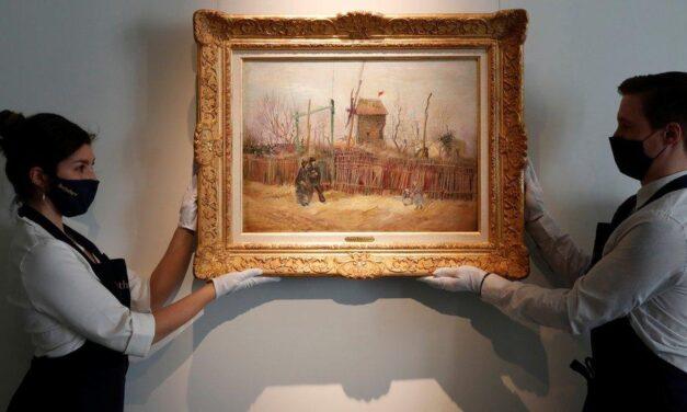 Piktura e rrallë e Van Gogh, shitet në ankand për 13.1 milionë euro