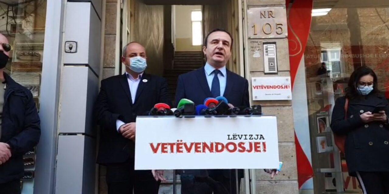 Albin Kurti, fushatë në Tiranë: Shqipëria ka nevojë për ndryshime
