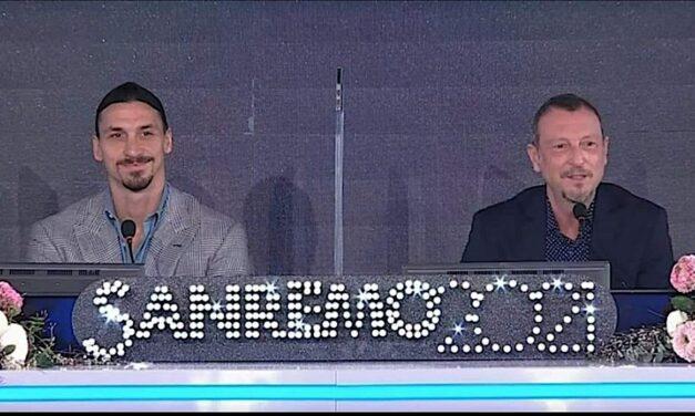 """Ibrahimovic """"prezanton"""" Sanremo: Amadeus me mua thyen çdo rekord të mundshëm"""