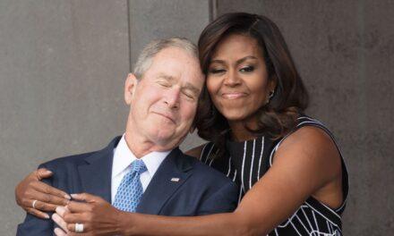 Bush është tronditur nga komentet për miqësinë e tij me Michelle Obamën