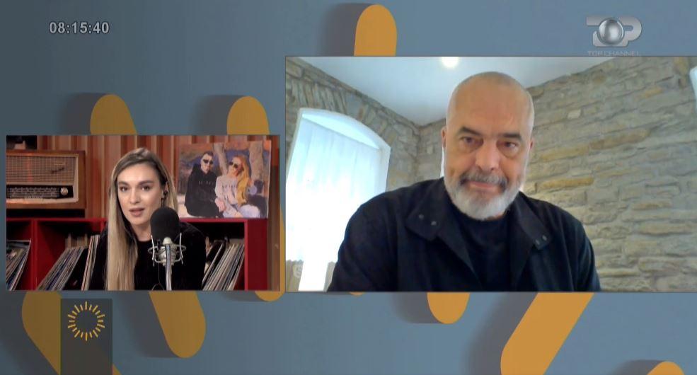 Kandidatja e PD interviston kryeministrin Edi Rama