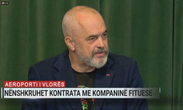Aeroporti i Vlorës, nënshkruhet kontrata, Rama: Behgjeti e kishte ëndërr të bënte një vepër në Shqipëri