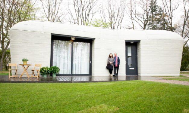 Një çift në Holandë bëhen të parët në Europë me shtëpi 3D