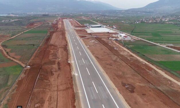 Aeroporti i Kukësit, Balluku: Gati për fluturimin e parë. Çunat e Londrës do të priten nga Rama