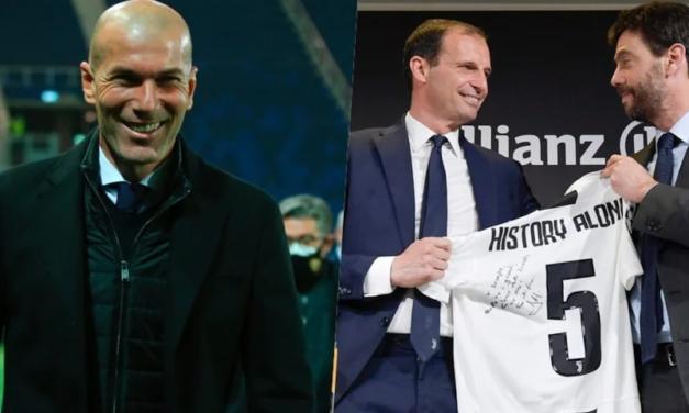 Zidane dhe tundimi Juve. Real kërkon Allegrin, Zizou rikthehet në Torino?