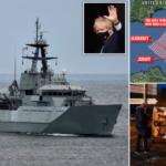"""""""Lufta e parë e Brexit"""" në Jersey: Johnson dërgon anijet ushtarake, edhe Macron rreshton një"""
