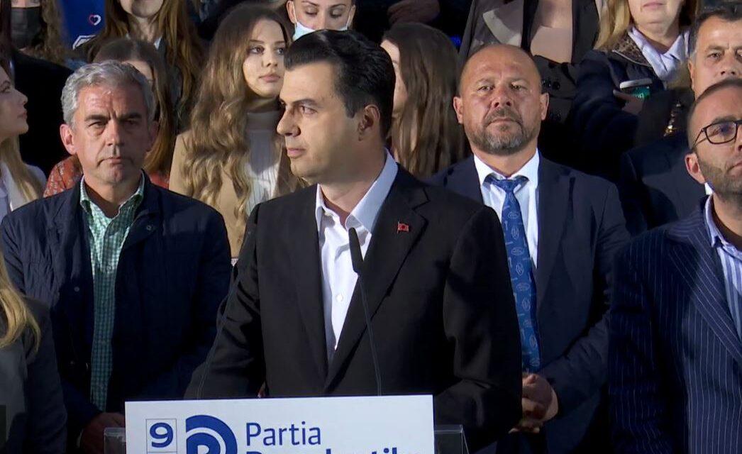 PD nuk i njeh zgjedhjet, Basha: Mblidhni prova, javën tjetër tur nëpër Shqipëri