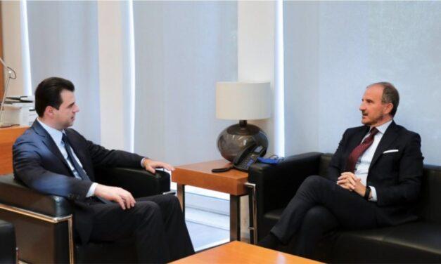 Soreca takon Bashën pas rizgjedhjes në krye të PD: Biseduam për legjislaturën e re dhe hapat për integrimin