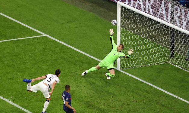 Franca fiton përballë Gjermanisë