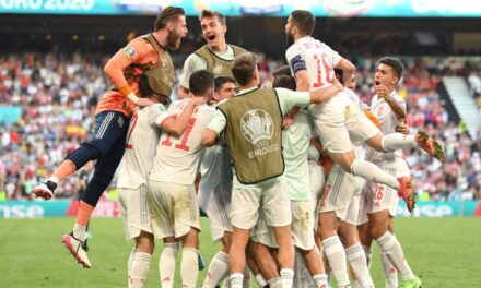 Morata i mbyll gojën kritikëve me supergol, Spanja kalon në çerekfinale