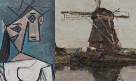 Ishin vjedhur në 2012, gjenden në Athinë dy pikturat e humbura të Picasso-s dhe Mondrianit