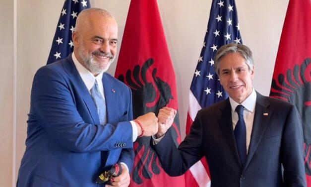 Rama-Blinken nënshkruajnë marrëveshjen mes Shqipërisë dhe SHBA-së për teknologjinë 5G