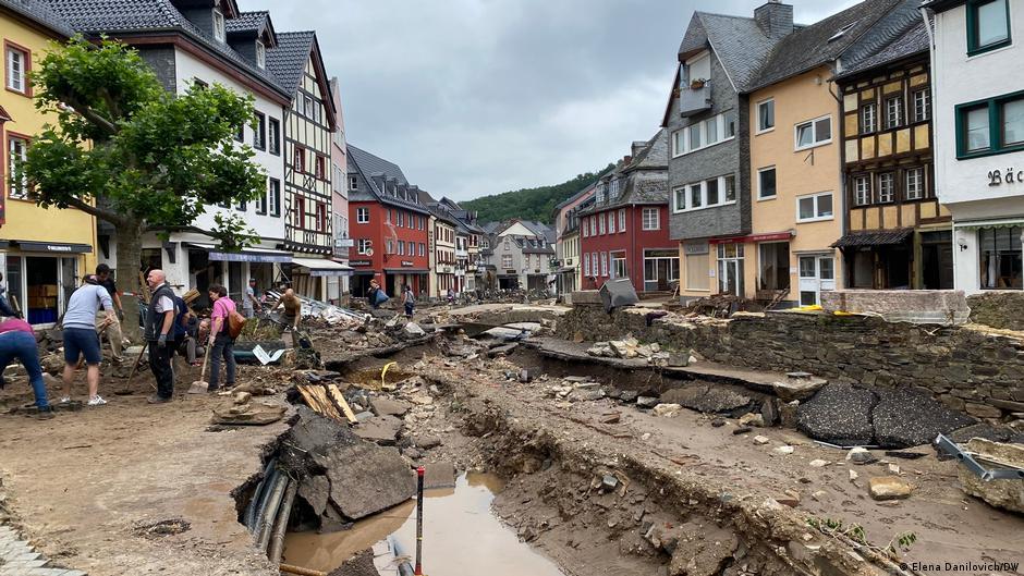 Gjermani, 400 milion euro për viktimat e përmbytjeve
