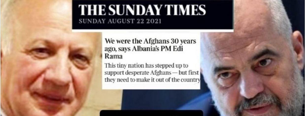 """'Zoti Kryeministër, nuk kemi qenë afganë, as 30 vite më parë, as sot"""""""