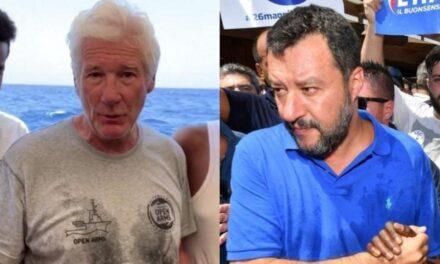 """Richard Gere dëshmon kundër Matteo Salvini në gjyqin e """"Open Arms"""""""