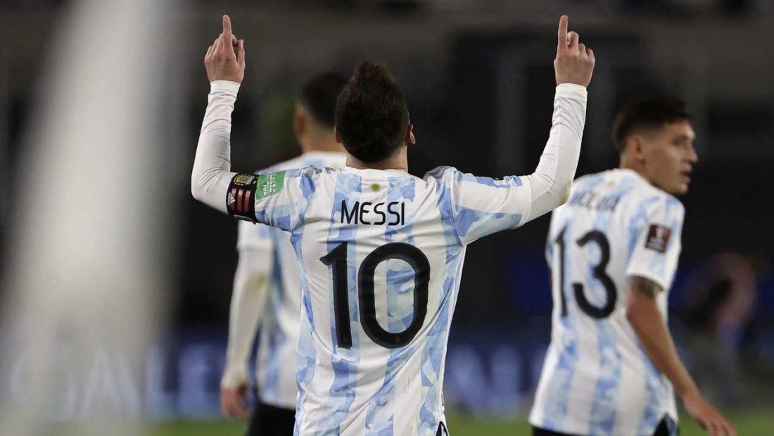 Messi kalon Pelen, Argjentina dhe Brazili fitojnë lehtësisht në eliminatore