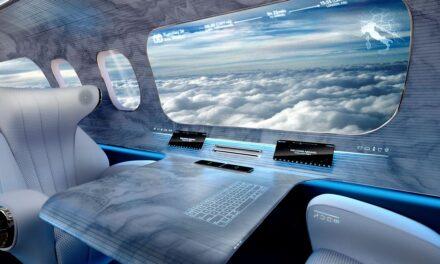 Avioni pa dritare nga ku mund të shohësh të gjithë botën