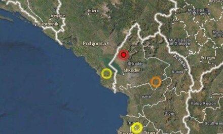 Përsëri lëkundje tërmeti në Shqipëri