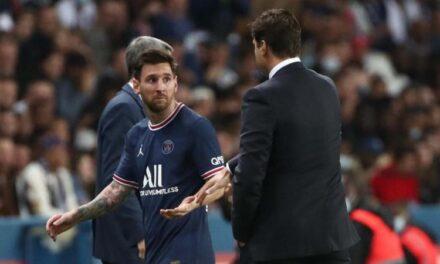Messi acarohet me Pochettinon, zëvendësimi i tij bëhet çështje botërore