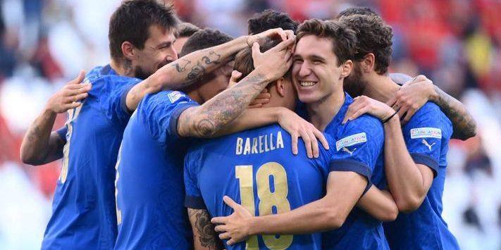 """Italia merr """"trofeun e vogël"""", mposht Belgjikën"""